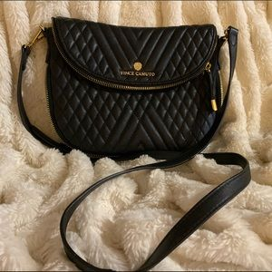 Vince Camuto quilted crossbody bag